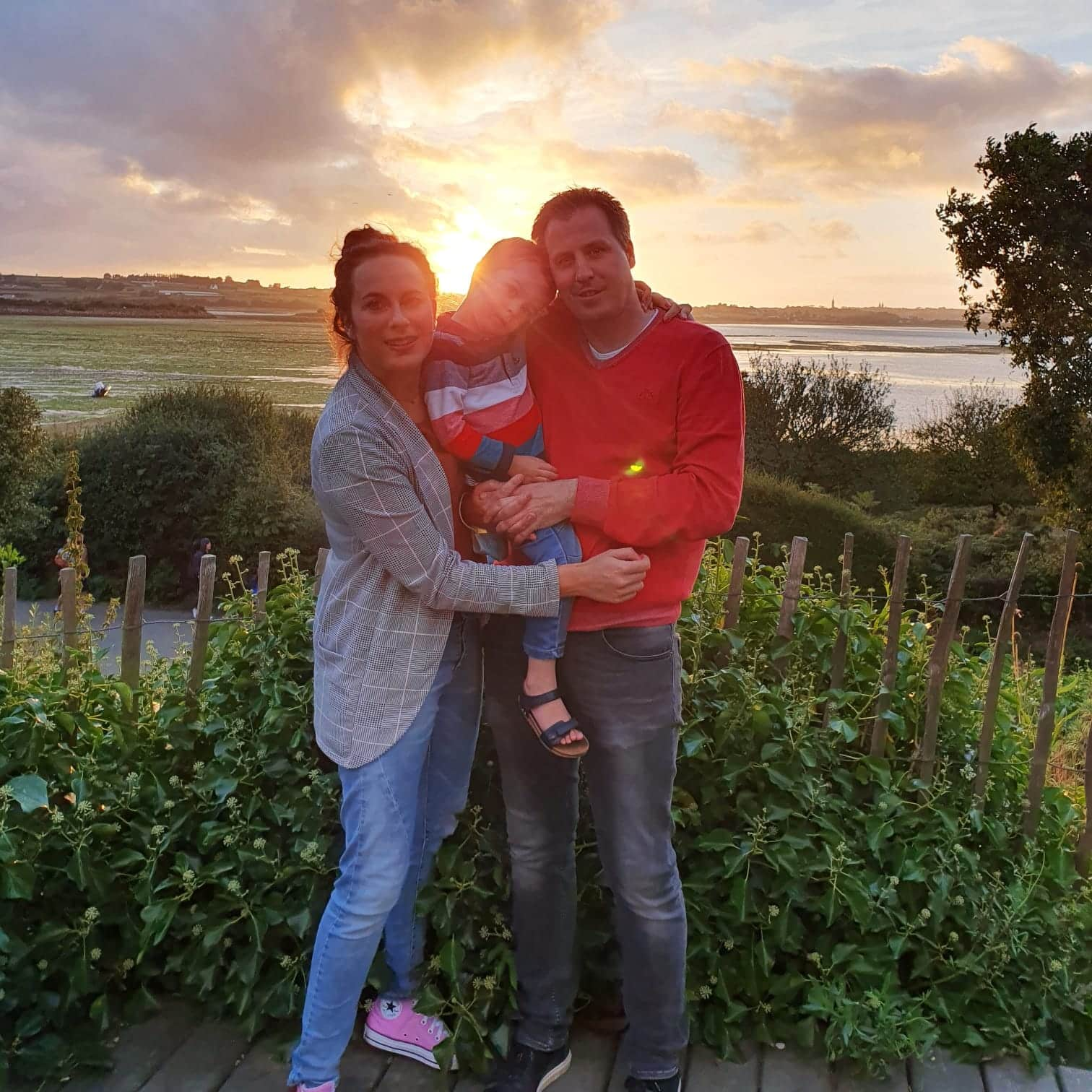 Met mijn gezin in Bretagne, zomer 2020.